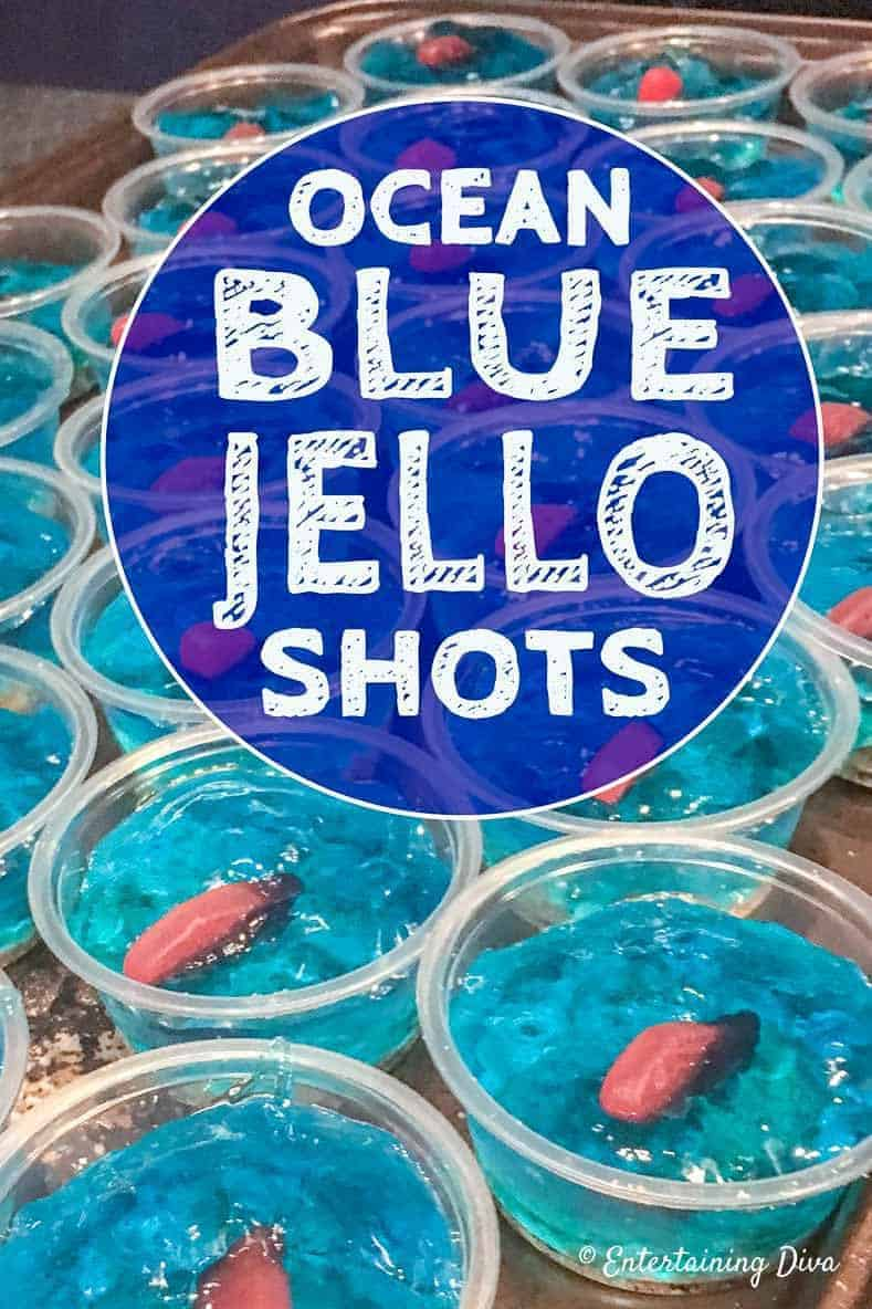Under The Sea Swedish Fish Jello Shot Recipe