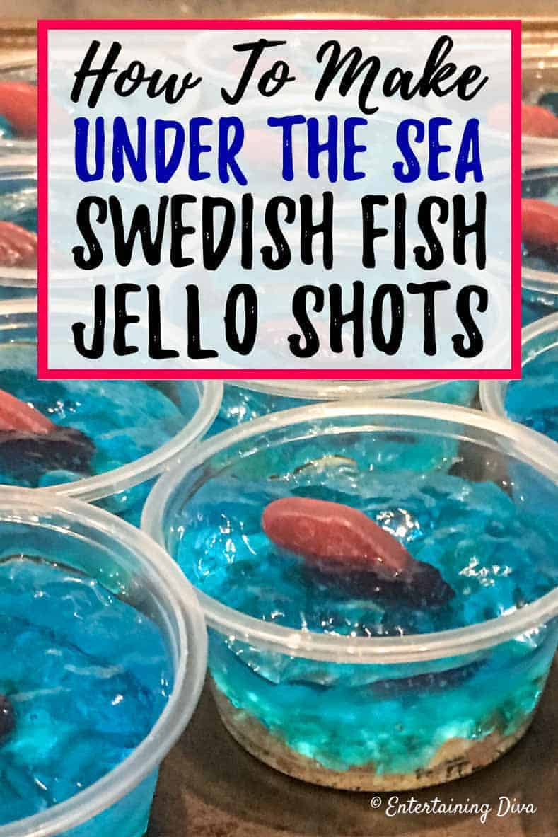 How to make Swedish fish jello shots