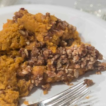 Southern slow cooker sweet potato casserole