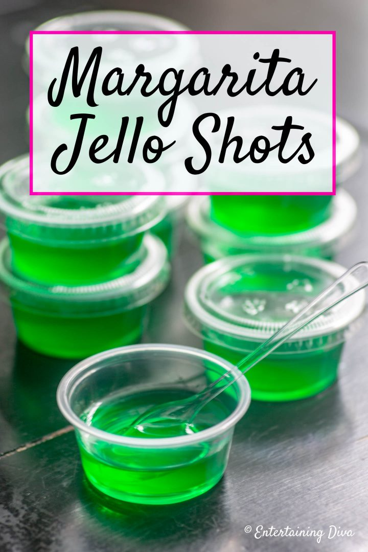 Margarita Jello Shots recipe
