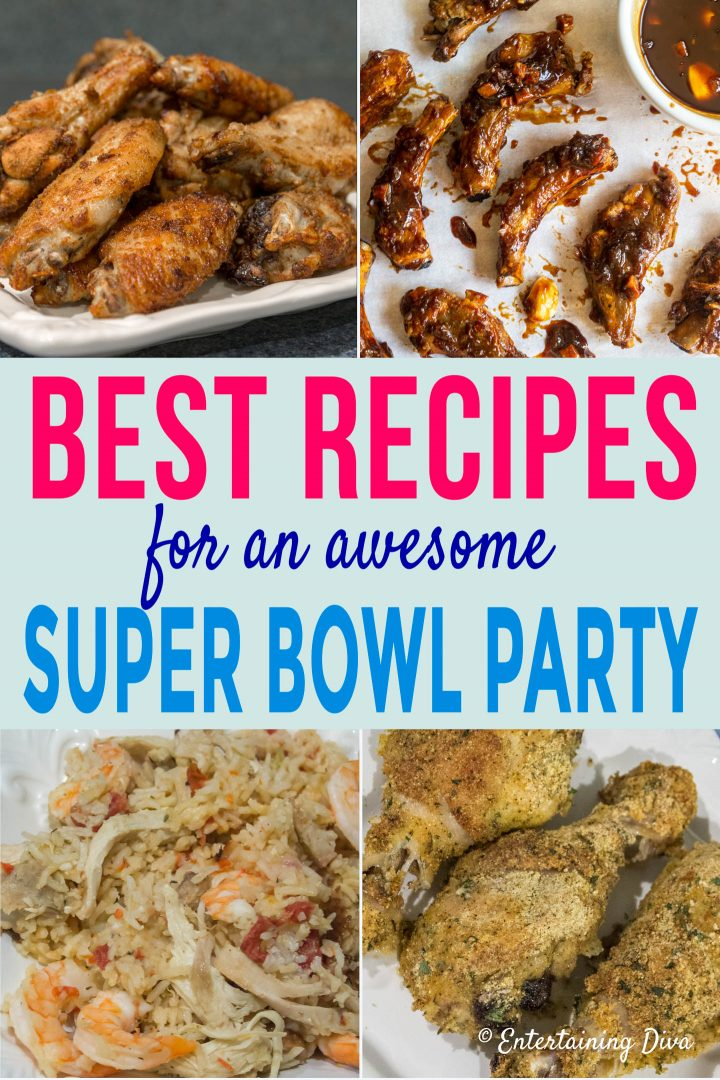 Best recipes for an awesome Super Bowl party