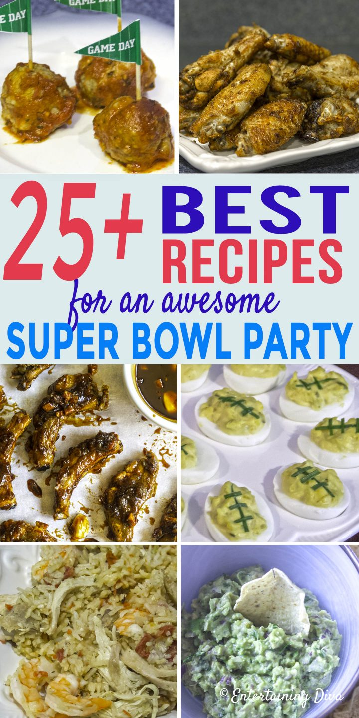 Super Bowl Party Menu Entertaining Diva Recipes From House To Home