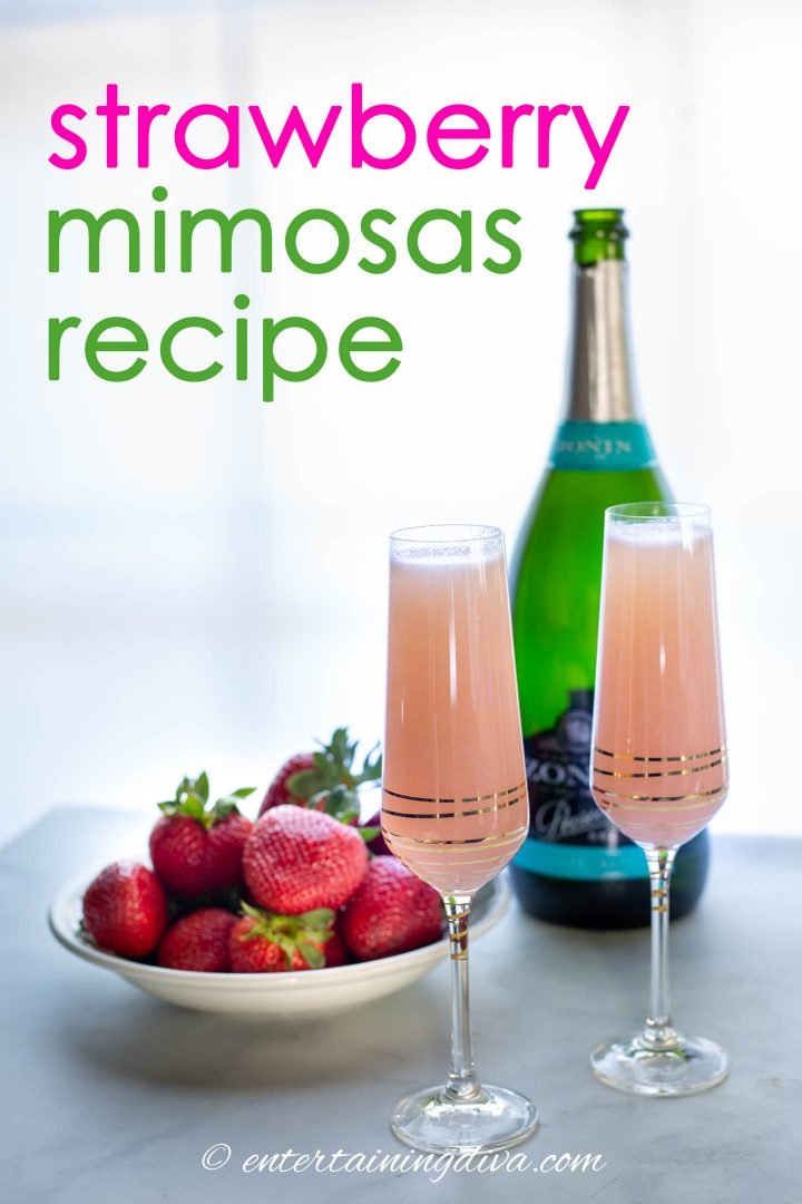 Strawberry Mimosas Recipe