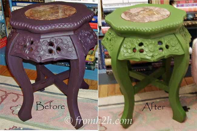 How To Paint An Accent Table Using Cottage Paint