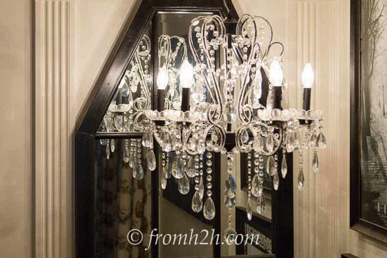 Light fixture in the stairway | How To Choose The Right Light Fixture | www.fromh2h.com