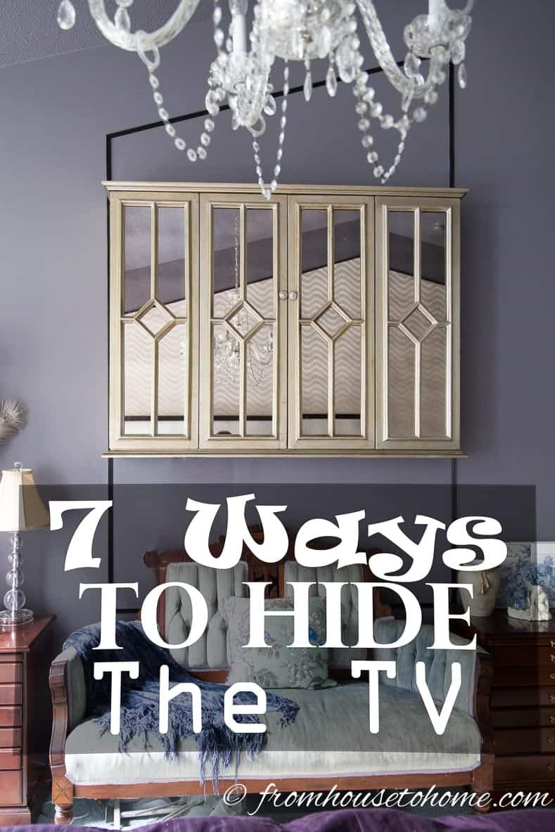 7 Ways To Hide The TV