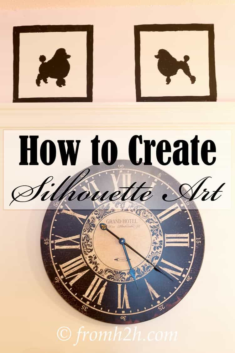 Learn how to create silhouette art without needing to be an artist. Click here to get the step by step instructions | How To Create Silhouette Art