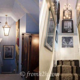 From Dull to Dramatic: Staircase Makeover