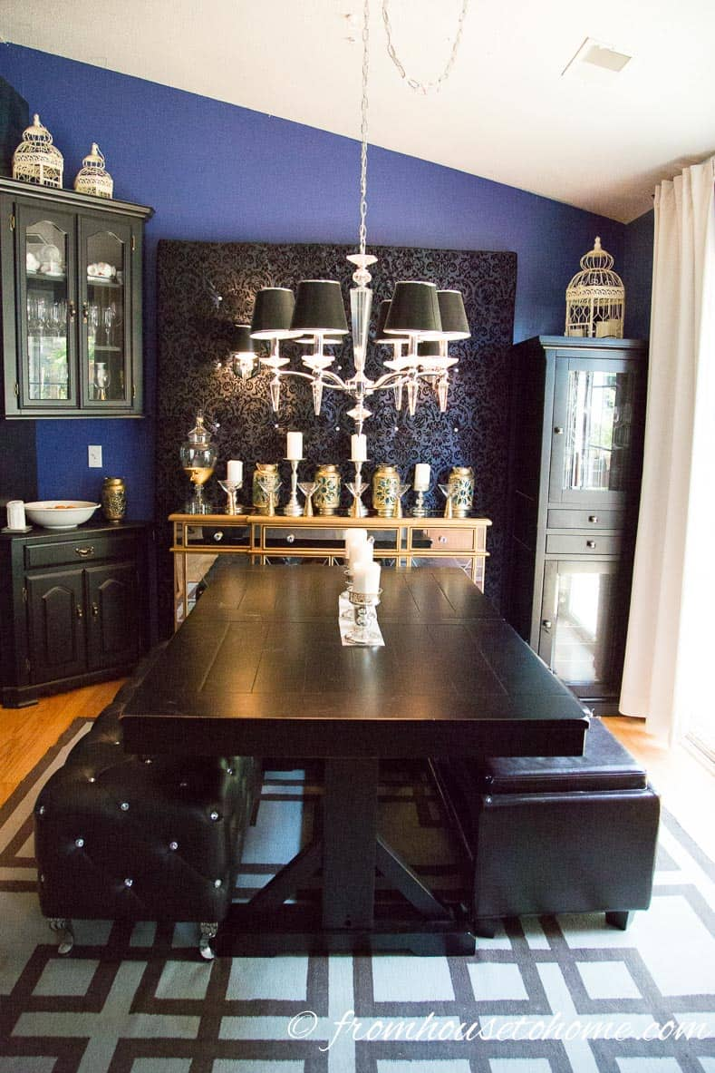 Chandelier in the dining room | How To Choose The Right Light Fixture