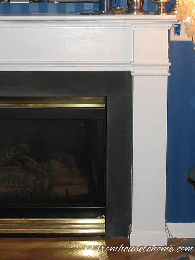 Fireplace Surround With Brass | How To Build A Traditional Fireplace Mantel (on a budget)