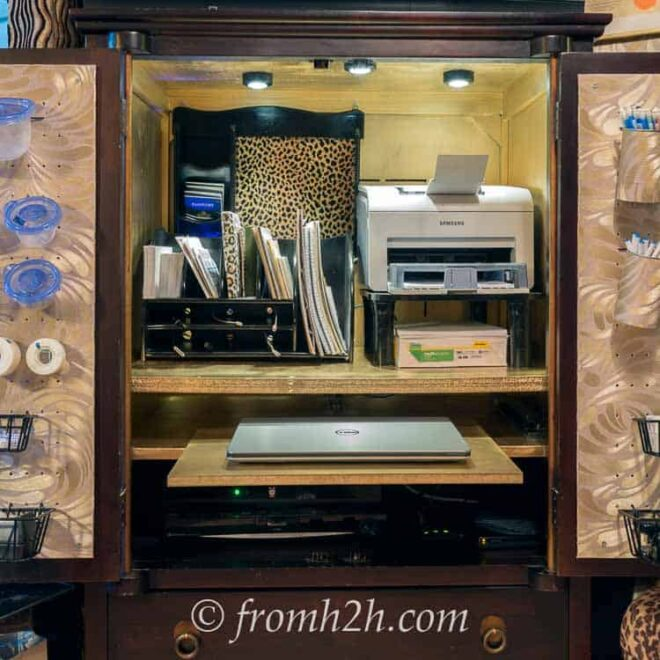Home Office Armoire