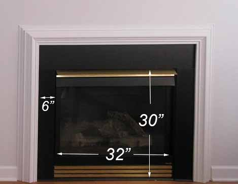 Step 1: Measure | How To Build A Traditional Fireplace Mantel (on a budget)