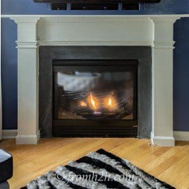 How To Build A Traditional Fireplace Mantel (On a Budget)