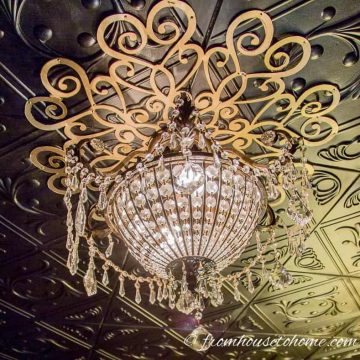 The Lace Ceiling Medallion