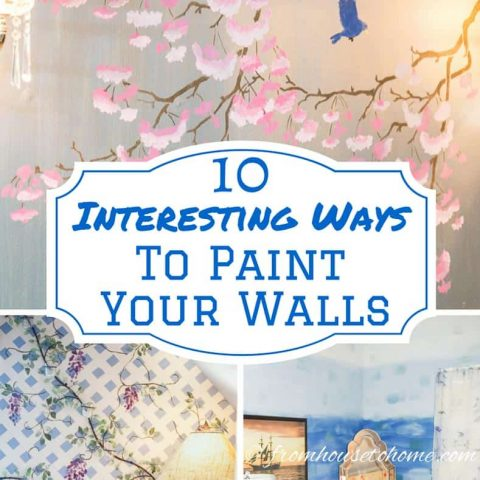 10 Interesting Ways To Paint Your Walls