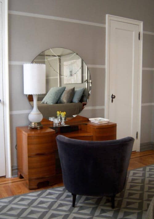 10 interesting ways to paint your walls. Black Bedroom Furniture Sets. Home Design Ideas