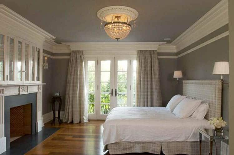 Make crown moldings taller by adding extra moldings to it
