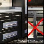 How To Convert Shelves into Drawers