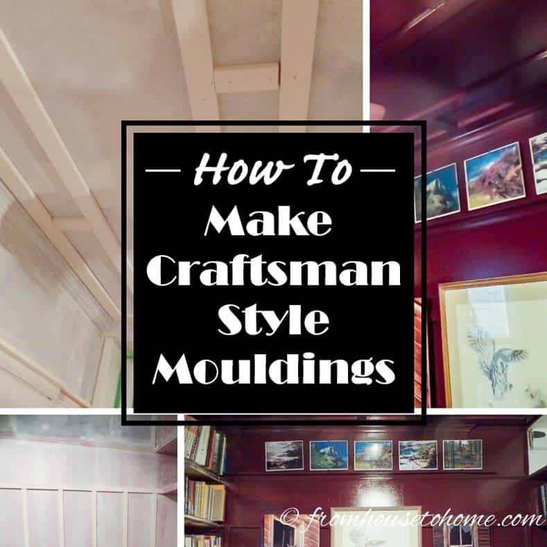 How To Make Craftsman Style Mouldings