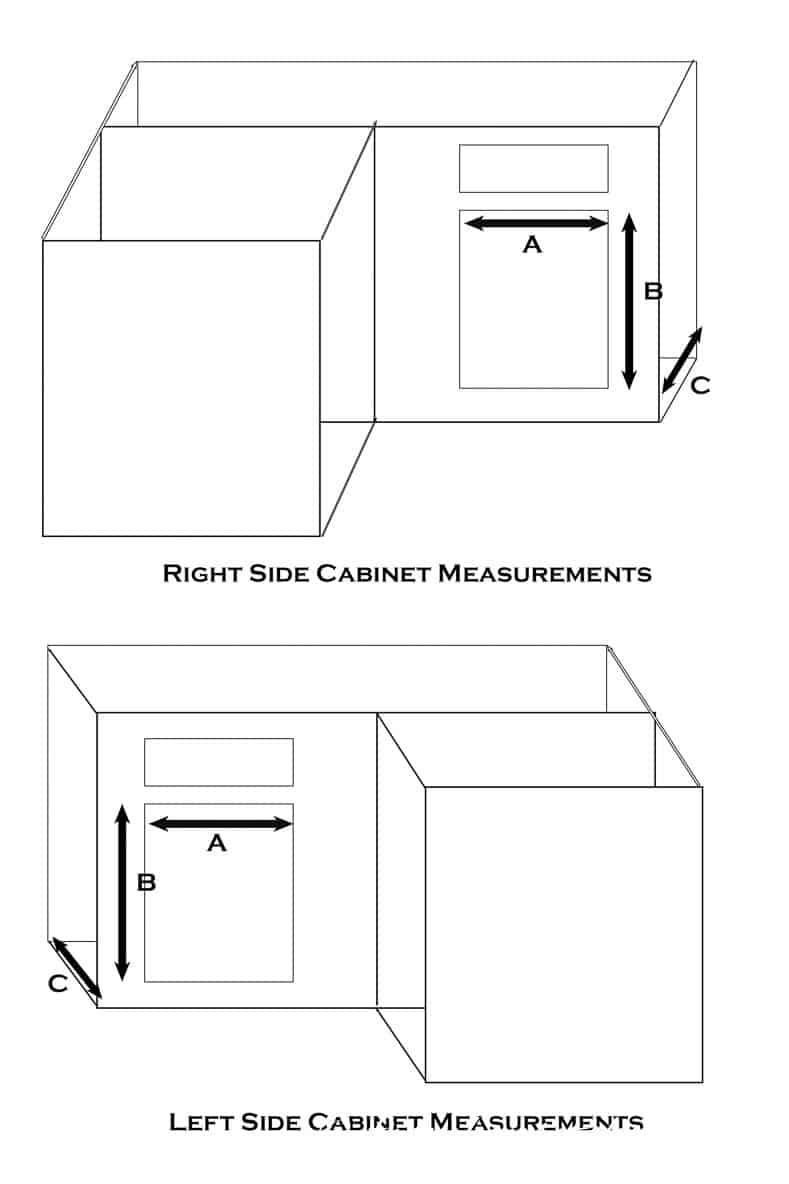 Cabinet measurements