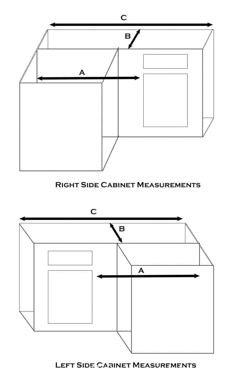 Corner Cabinet Measurements | How To Build Blind Corner Cabinet Pull Out Shelves