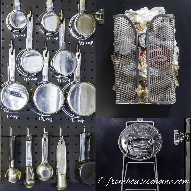 7 Awesome Kitchen Cabinet Door Storage Ideas That Will