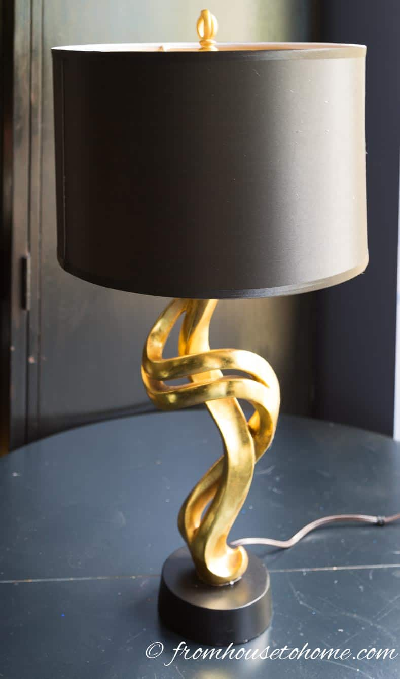 My home office makeover lamp