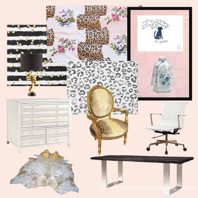 Home Office Mood Board