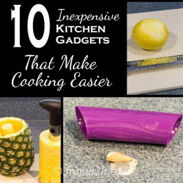 10 Inexpensive Kitchen Gadgets That Make Cooking Easier