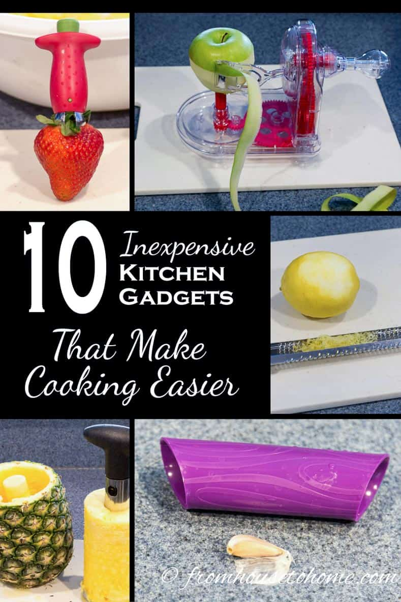 Looking for ways to help with food preparation that doesn't cost a lot of money? See our list of inexpensive kitchen gadgets that make cooking easier | Inexpensive kitchen gadgets that make cooking easier