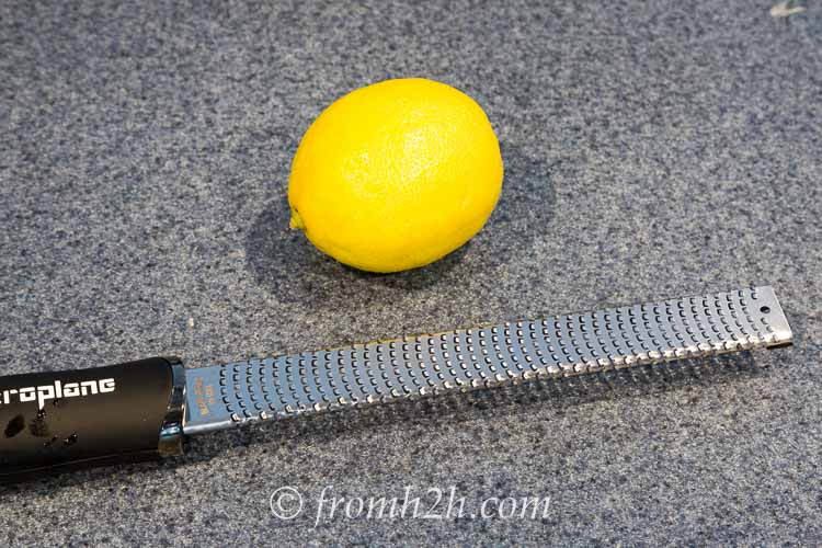 Lemon Grater | Inexpensive Kitchen Gadgets That Make Cooking Easier