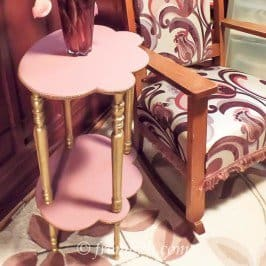 4 Easy Steps To Update an Old Side Table