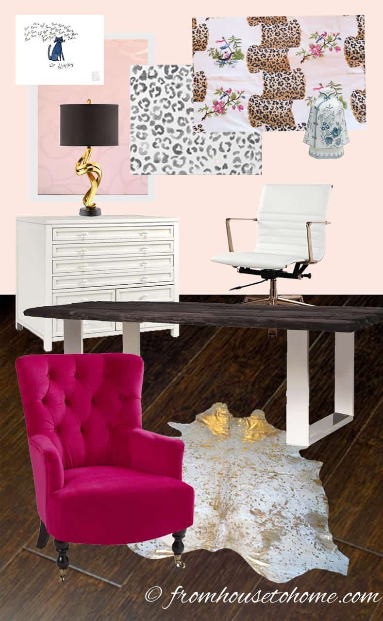 Home Office Makeover Room Plan