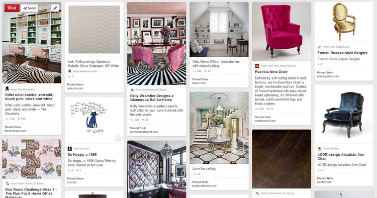 Create an inspiration board for your room   How to Create a Room You Love, Part 1: Planning For a Room Makeover