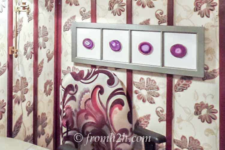 DIY artwork is an inexpensive way to add to your room | The Do's and Don'ts of a Successful Room Makeover