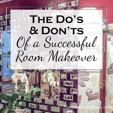 The Do's and Don'ts of a Successful Room Makeover