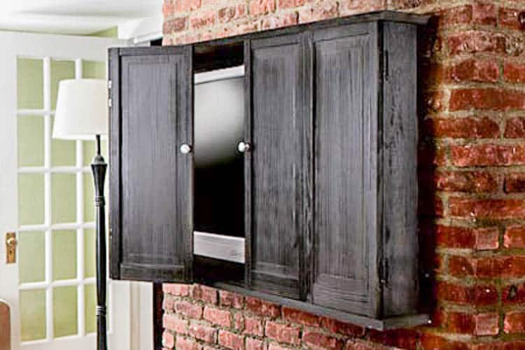 DIY TV Cabinet from thisoldhouse.com