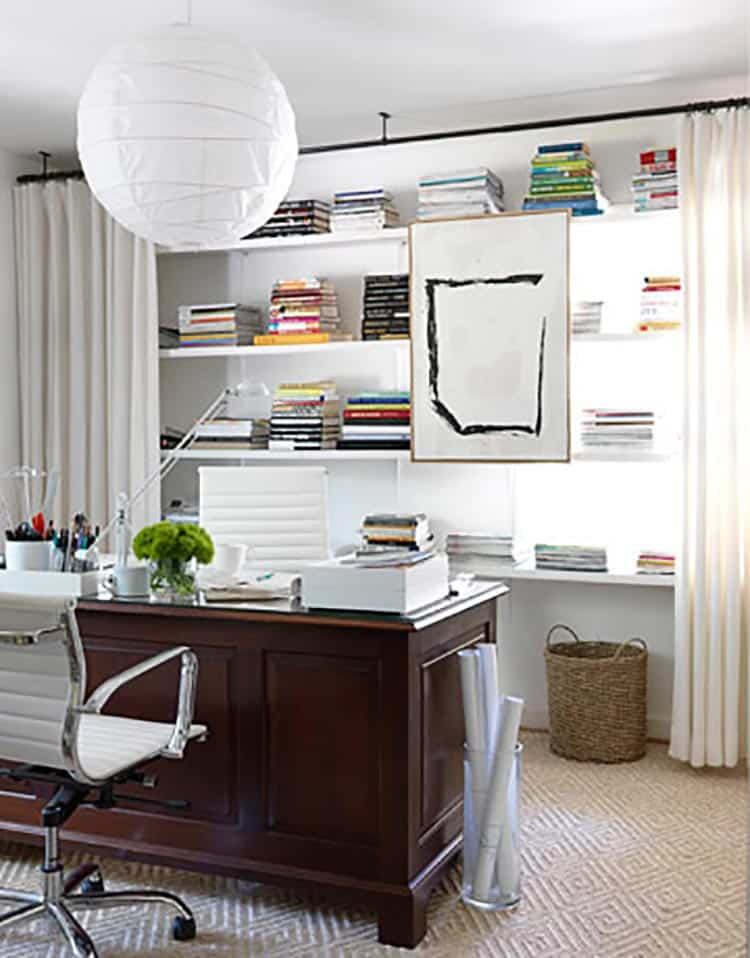 9 Easy Ways To Hide Clutter On Shelves Page 2 Of 11