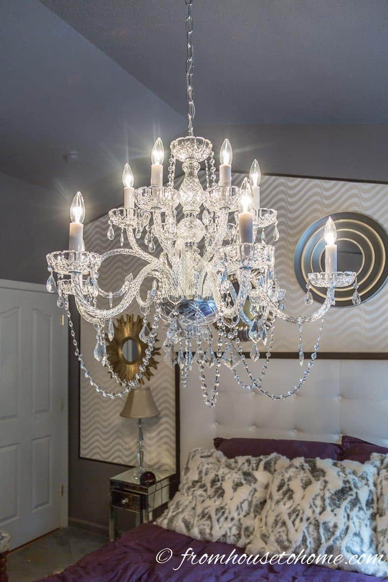 Turn on the power | How to Hang a Chandelier