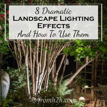 8 Dramatic Landscape Lighting Effects And How To Use Them