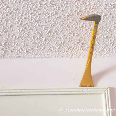 How To Remove Mouldings