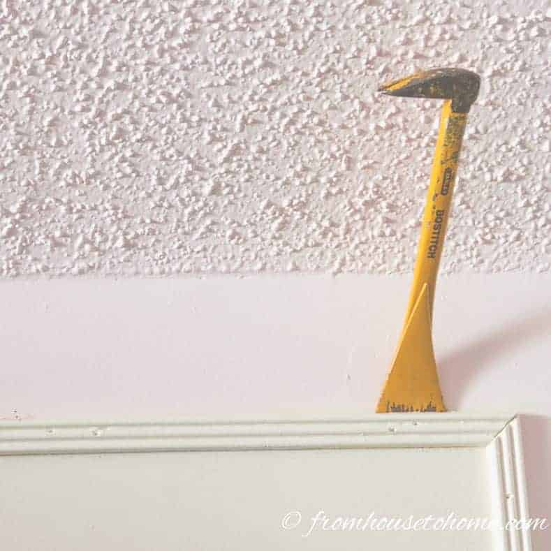 How To Remove Mouldings So You Can Reuse Them
