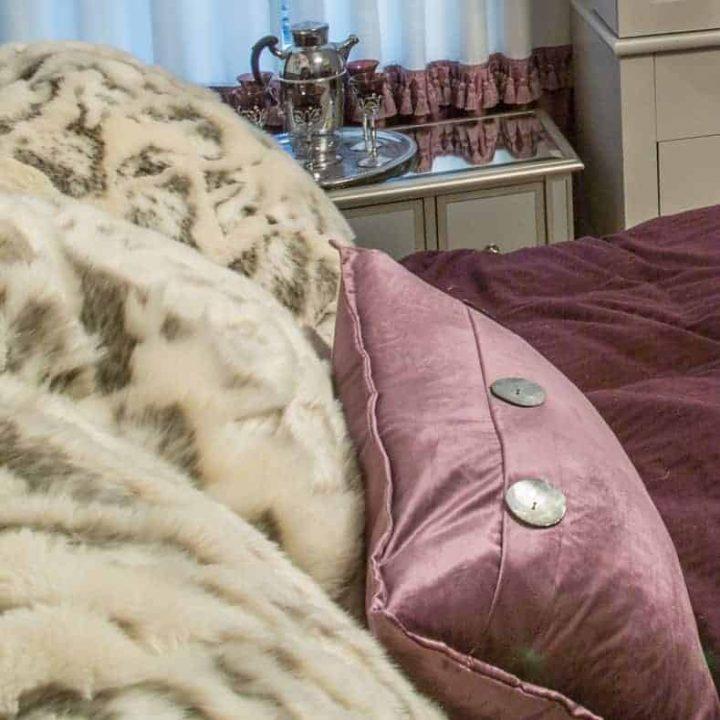 cozy room textured cushions