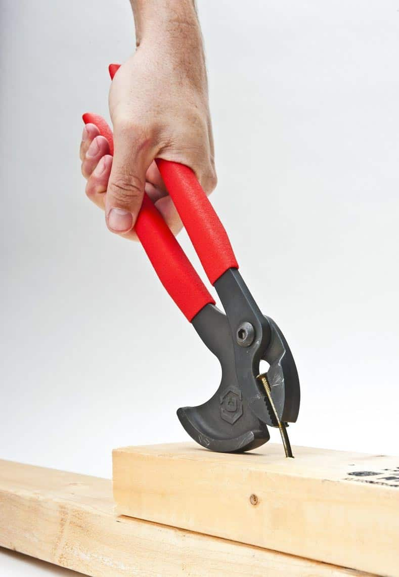 Nail pulling pliers make the job easier | 10 Perfect Gifts For the DIYer That Are Under $20