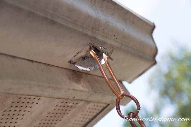 How To Make A Beautiful Copper Diy Rain Chain
