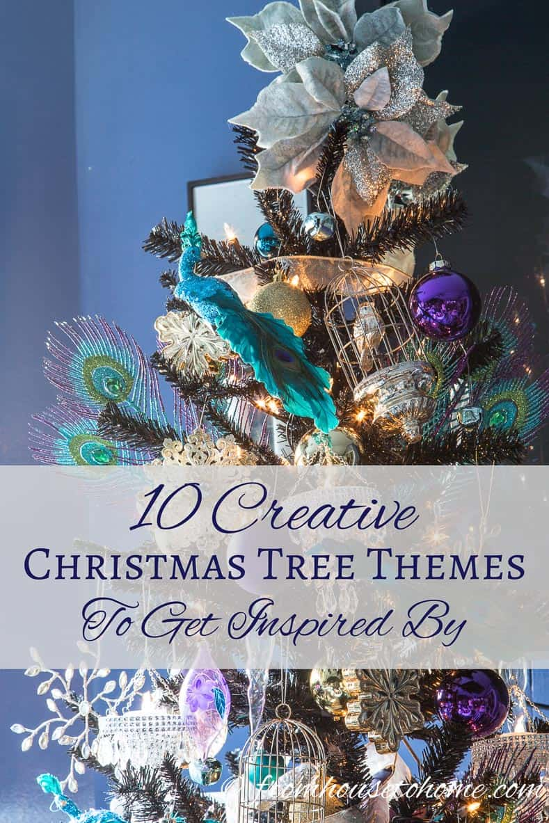 10 Creative Christmas Tree Themes To Get Inspired By | Looking for some inspiration for your Christmas decorations this year? Check out this list of creative Christmas tree themes to get some ideas!