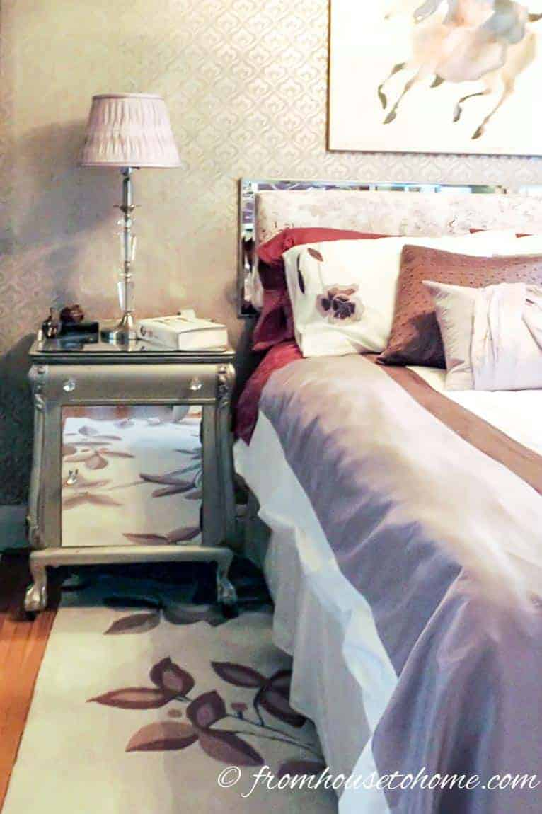 Nightstands - Most popular home decor trends of 2017 | If you are planning to do some decorating this year and are looking for some inspiration, this list of the current home decor trends will give you some idea of what is new and popular for interiors in 2017.