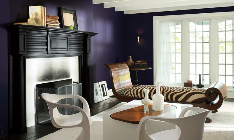 "Benjamin Moore ""Shadow"" 