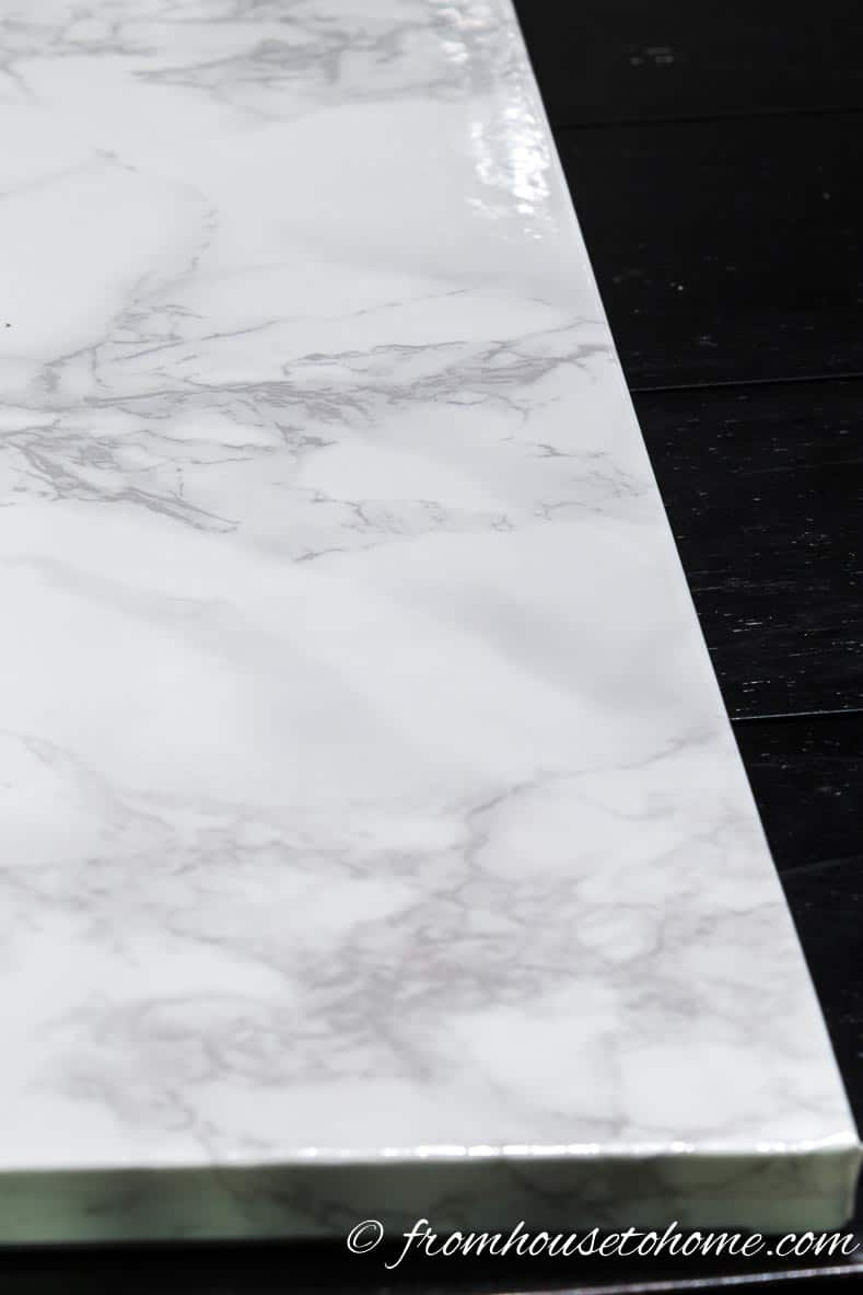 Faux marble - Most popular home decor trends of 2017 | If you are planning to do some decorating this year and are looking for some inspiration, this list of the current home decor trends will give you some idea of what is new and popular for interiors in 2017.