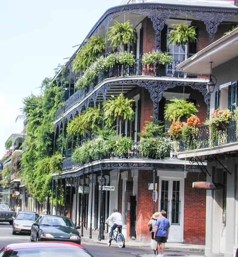Balconies along Royal Street at Dumaine, New Orleans. Picture taken by Jan Kronsell, via Wikimedia Commons - Most popular home decor trends of 2017 | If you are planning to do some decorating this year and are looking for some inspiration, this list of the current home decor trends will give you some idea of what is new and popular for interiors in 2017.